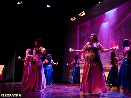 Espectáculo Cleopatra