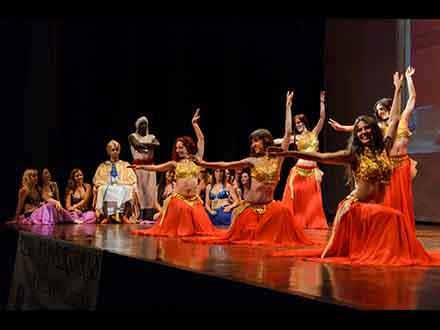 Espectáculo Mujeres de Harén 2015